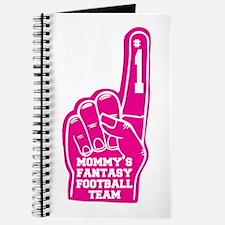 Mommy's Fantasy Football Foam Finger Journal