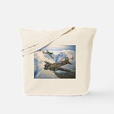 B-17 Shack Rabbit Tote Bag