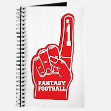 Fantasy Football Foam Finger Journal
