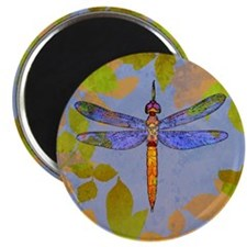 Shining Dragonfly Magnet