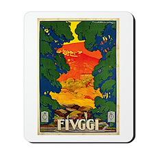 Vintage 1928 Fivggi Italy Mousepad