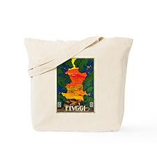 Vintage 1928 Fivggi Italy Tote Bag