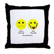 Any Questions Throw Pillow