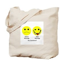 Any Questions Tote Bag