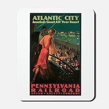 Vintage 1935 Atlantic City NJ Mousepad