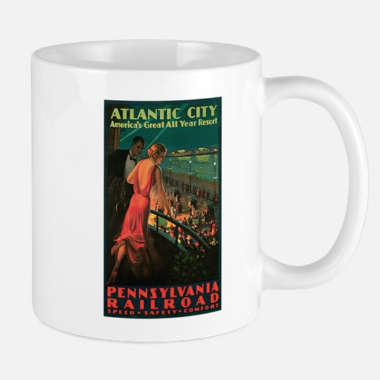 Vintage 1935 Atlantic City NJ Mug