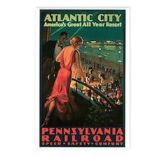 Vintage 1935 Atlantic City NJ Postcards (Package o