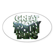Great Smoky Mountains Decal
