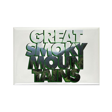 Great Smoky Mountains Rectangle Magnet (100 pack)