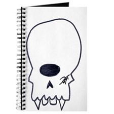 Funny Alien head Journal