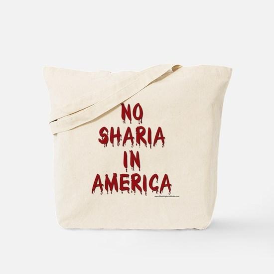 No Sharia: Tote Bag