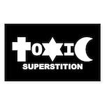 ToXiC Superstition 3x5 Sticker
