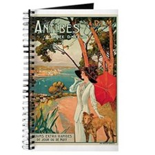 Vintage 1910 Antibes Italy Travel Journal