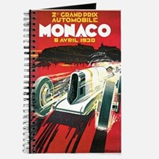 Vintage 1930 Monaco Auto Race Journal