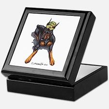 Doberman Pinscher Lover Keepsake Box