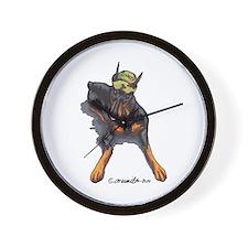 Doberman Pinscher Lover Wall Clock