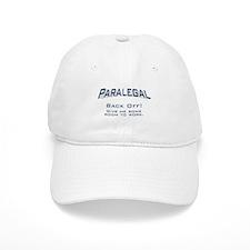 Paralegal / Back Off Baseball Cap