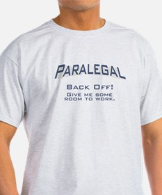 Paralegal / Back Off T-Shirt