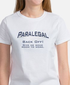 Paralegal / Back Off Tee