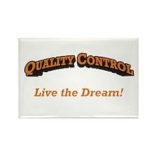 Quality Control / Dream Rectangle Magnet