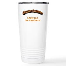 QC / Numbers Thermos Mug