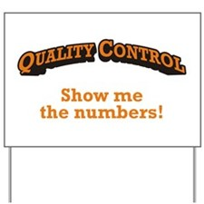 QC / Numbers Yard Sign