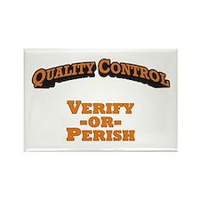 Quality Control / Verify Rectangle Magnet