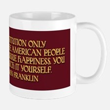 Franklin on Constitutional Gu Mug