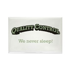 Quality Control / Sleep Rectangle Magnet