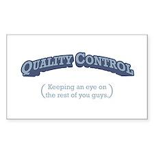 Quality Control / Eye Decal
