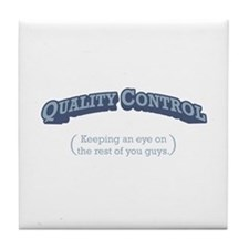 Quality Control / Eye Tile Coaster