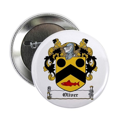 "Oliver Coat of Arms 2.25"" Button (100 pack)"