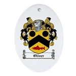Oliver Coat of Arms Oval Ornament