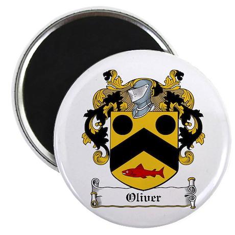 Oliver Coat of Arms Magnet