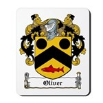 Oliver Coat of Arms Mousepad