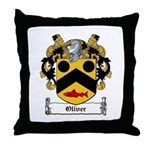 Oliver Coat of Arms Throw Pillow