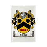 Oliver Coat of Arms Rectangle Magnet (100 pack)