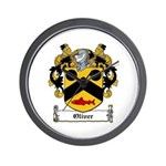 Oliver Coat of Arms Wall Clock