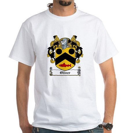 Oliver Coat of Arms White T-Shirt