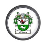 O'Leary Family Crest Wall Clock