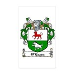 O'Leary Family Crest Rectangle Sticker
