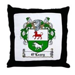 O'Leary Family Crest Throw Pillow