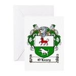 O'Leary Family Crest Greeting Cards (Pk of 10)