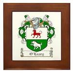 O'Leary Family Crest Framed Tile