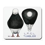 Tumbler Baldhead Pigeon Mousepad