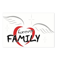 Forever Family Postcards (Package of 8)