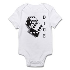 Retro Dice Infant Bodysuit