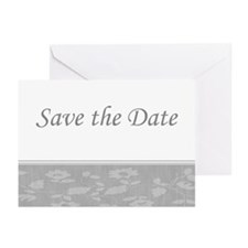 Save the Date floral Greeting Cards (Pk of 20)