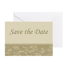 Save the Date floral Greeting Cards (Pk of 10)
