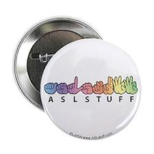 """ASLstuff Logo 2.25"""" Button"""